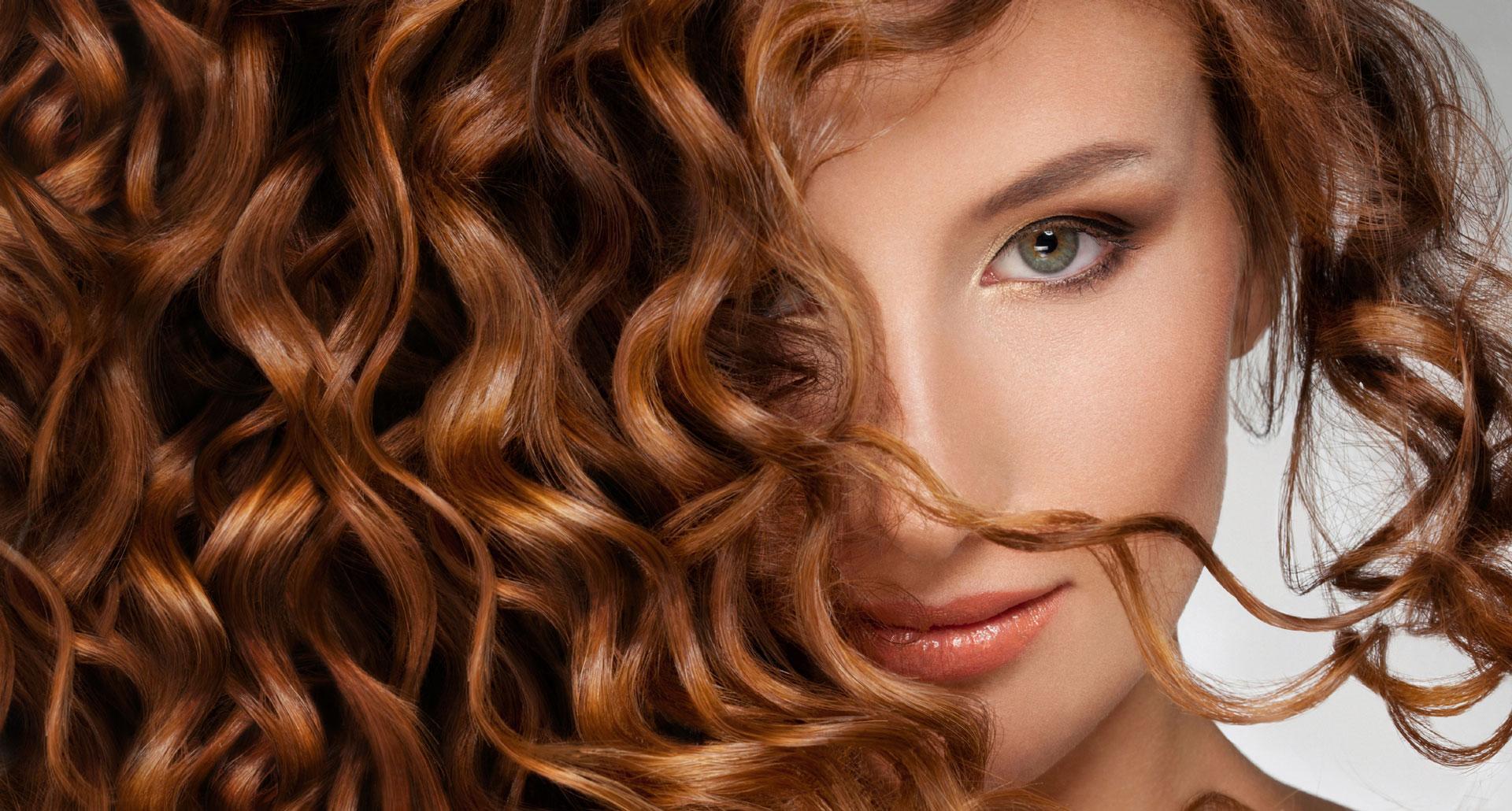 Матричная завивка волос